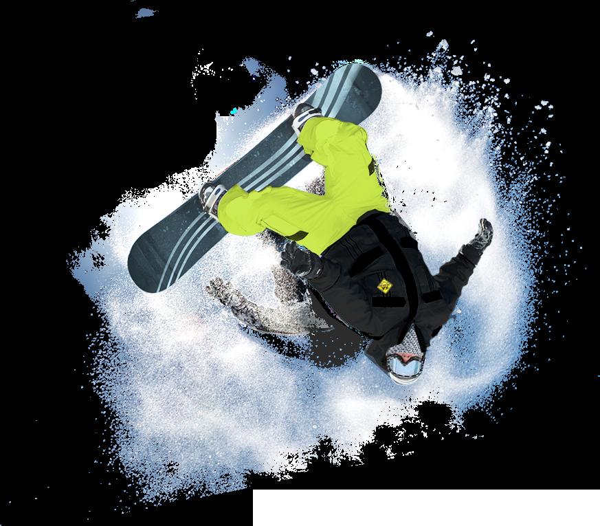 snowboard accompagnato